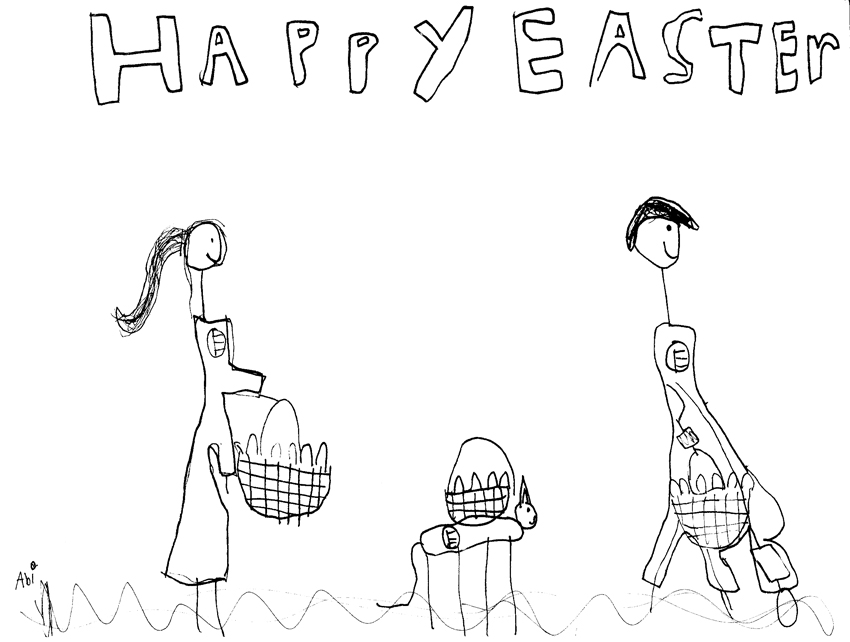 Easter Card resized